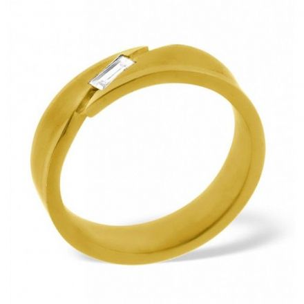 18K Gold 0.07ct H/si Diamond Wedding Band, WB23-7HSY